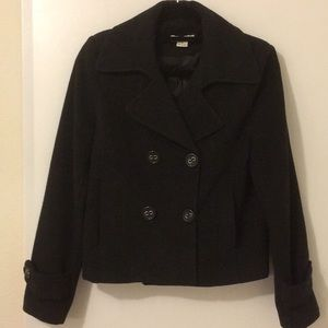 Forever Short Peacoat, size Small